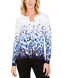 Printed Cardigan, Created For Macy's