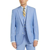 Deals on Tommy Hilfiger Modern-Fit TH Flex Stretch Chambray Suit Jacket