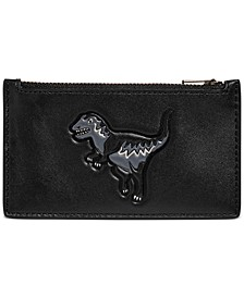 Men's Rexy Zip Leather Card Case