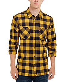 Men's Yanda Buffalo Plaid Flannel Shirt