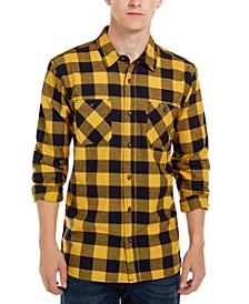 Men's Yanda Buffalo Plaid Flannel Shirt