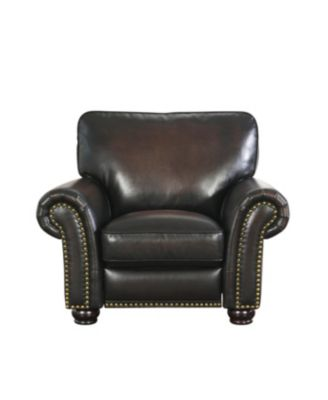 Oliver Leather Arm Chair