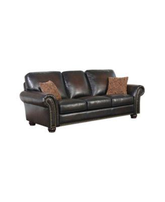 "Oliver 86"" Leather Sofa"