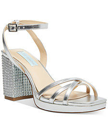 Blue by Betsey Johnson Zhara Evening Shoes