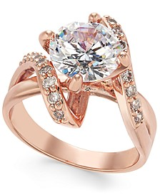 Crystal Stone Bypass Ring, Created for Macy's