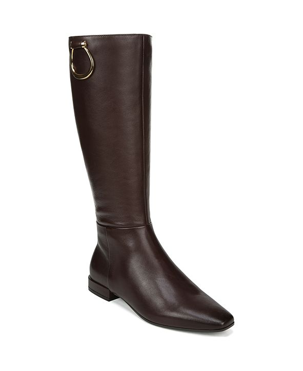 Naturalizer Carella Wide Calf High Shaft Leather Boots