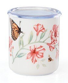 Lenox Butterfly Meadow  Kitchen Lidded Jar, Created for Macy's