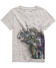 Toddler Boys Triceratops T-Shirt, Created For Macy's