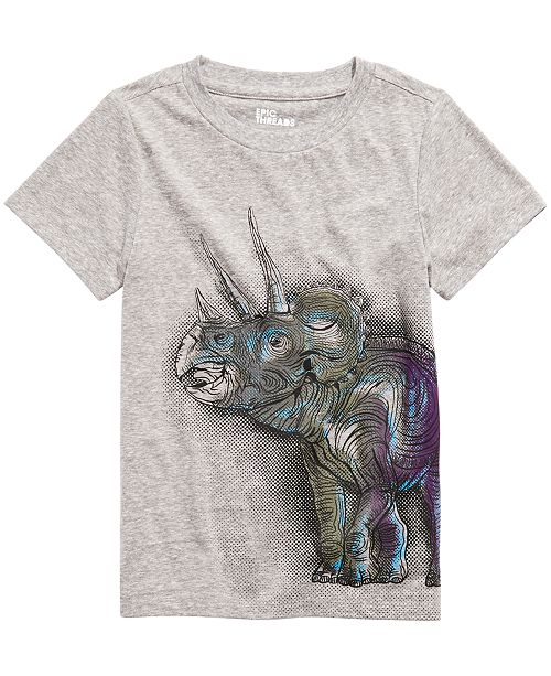 Epic Threads Toddler Boys Triceratops T-Shirt, Created For Macy's