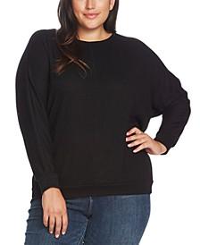 Plus Size Dolman-Sleeve Top