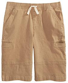 Epic Threads Big Boys Stretch Twill Cargo Shorts, Created For Macy's