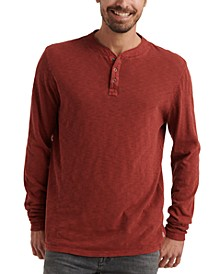 Men's Three-Snap Henley