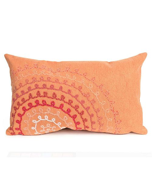 "Liora Manne Visions II Ombre Threads Indoor, Outdoor Pillow - 20"" x 12"""