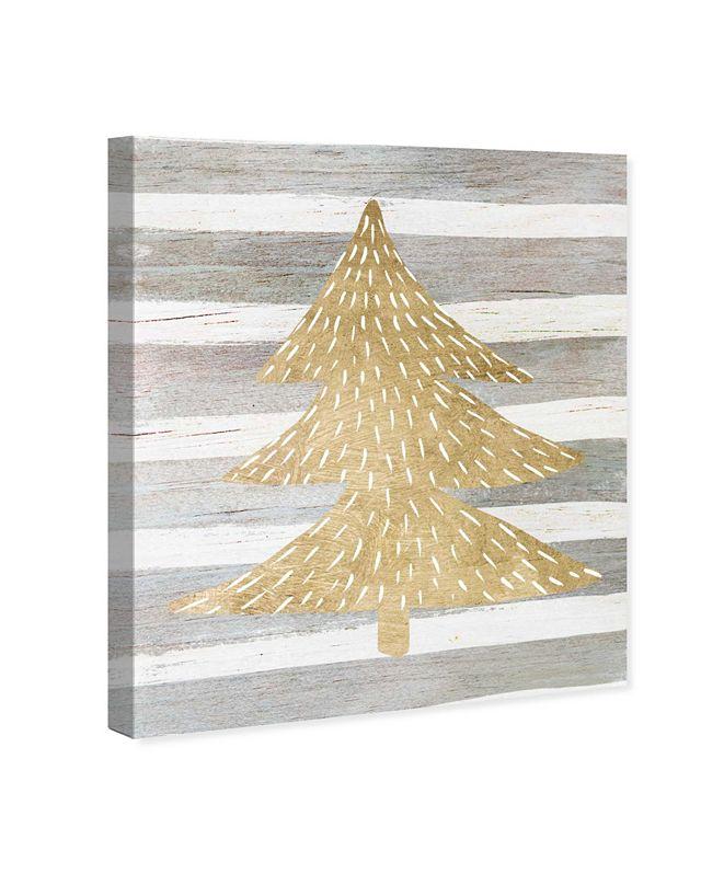 "Oliver Gal Gold Tree Canvas Art, 20"" x 24"""