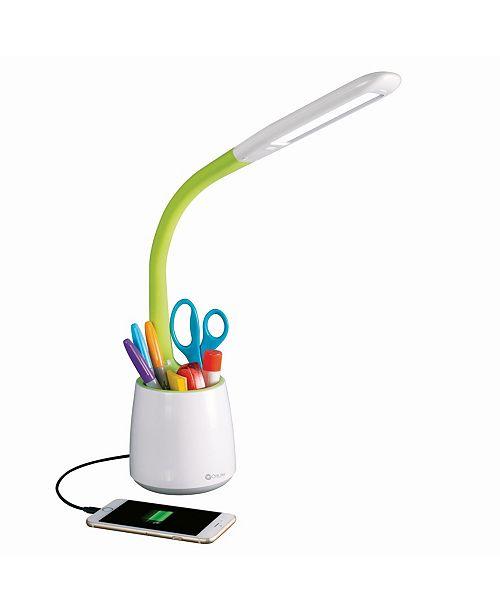 OttLite Organize Led Desk Lamp