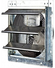 "12"" Variable Speed Shutter Exhaust Fan, Wall-Mounted"