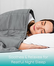Luxurious 15LBS Weighted Blanket Queen Size