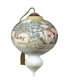 Arctic Sleigh Ride Ornament