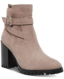 Women's Isra Lug Booties