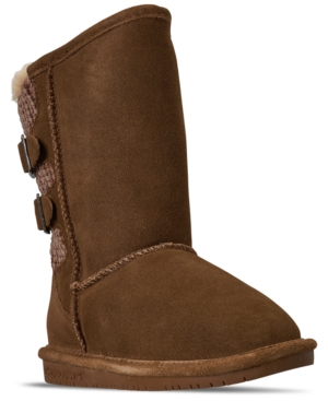 Bearpaw Little Girls Boshie Boots from Finish Line