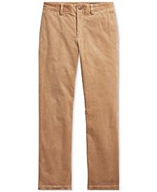Big Boy's Slim Fit Stretch Corduroy Pants