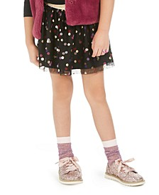 Toddler Girls Dot-Print Sparkle Skirt, Created For Macy's