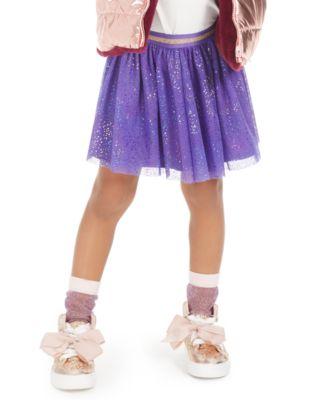 Little Girls Rainbow Sparkle Skirt, Created For Macy's