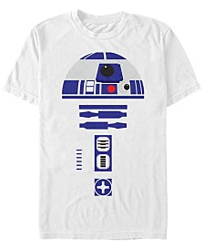 Star Wars Men's R2-D2 Body Costume Short Sleeve T-Shirt