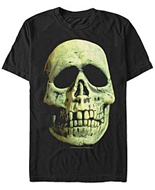 Halloween 3 Men's Skeleton Mask Big Face Costume Short Sleeve T-Shirt