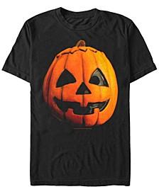 Halloween 3 Men's Jack O Lantern Pumpkin Mask Short Sleeve T-Shirt