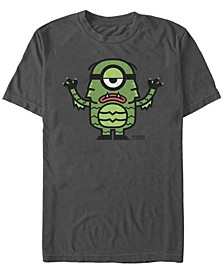 Despicable Me Men's Minions Lagoon Creature Halloween Costume Short Sleeve T-Shirt