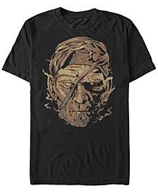 Universal Monsters Men's Mummy Big Face Short Sleeve T-Shirt