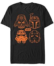 Star Wars Men's Sugar Skull Empire Short Sleeve T-Shirt