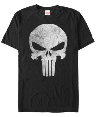 Officially Licensed Marvel/'s The Punisher Distressed Logo Hoodie S-XXL Sizes
