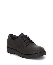 First Semester by Unisex Little Kids and Big Kids Classic Oxford Tie School Uniform Shoe