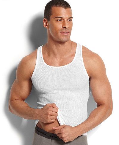 Hanes Platinum Men's Underwear, Tank 5 Pack - Underwear ...