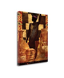 """African Traditions II by Eric Yang Fine Art Giclee Print on Gallery Wrap Canvas, 32"""" x 40"""""""