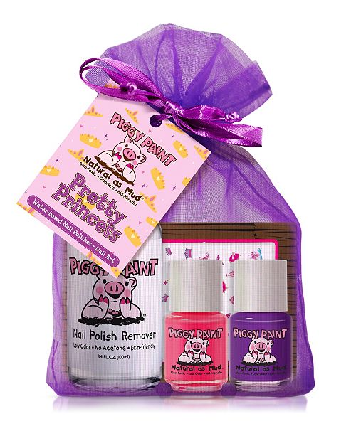Piggy Paint Pretty Princess Nail Polish and Remover