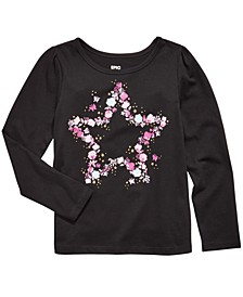 Little Girls Butterfly Star T-Shirt, Created For Macy's