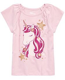 Little Girls Unicorn T-Shirt, Created For Macy's