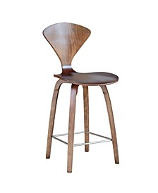 "Wooden Counter Chair 25"""