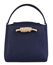 Mini Milan Top Handle Tote Bag