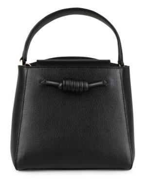 Esin Akan Mini Milan Top Handle Tote Bag In Black