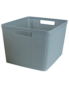 HDS Trading Trellis X-Large Storage Basket with Cut-Out Handles
