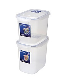 Large Sealed Food Storage Container, Set of 2