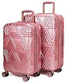 "Contour 2-Pc. Expandable Hard Spinner Luggage Set - 26""/23"""