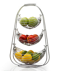 HomeIT 3 Tier Stainless Steel Fruit Basket