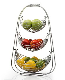 3 Tier Stainless Steel Fruit Basket