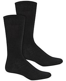 Men's Ribbed Socks, Created for Macy's