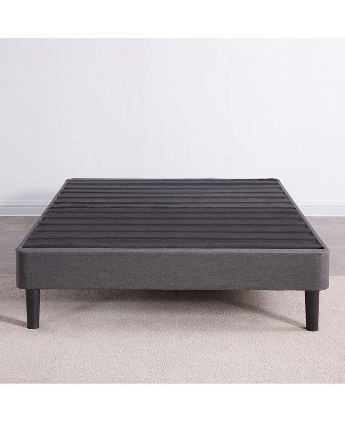 Sleep Trends Upholstered Platform Bed, How Long Is A Extra Twin Bed Frame
